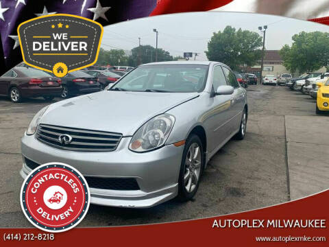 2006 Infiniti G35 for sale at Autoplex in Milwaukee WI