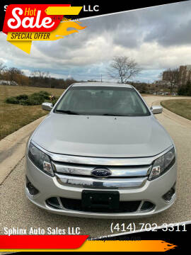 2010 Ford Fusion for sale at Sphinx Auto Sales LLC in Milwaukee WI