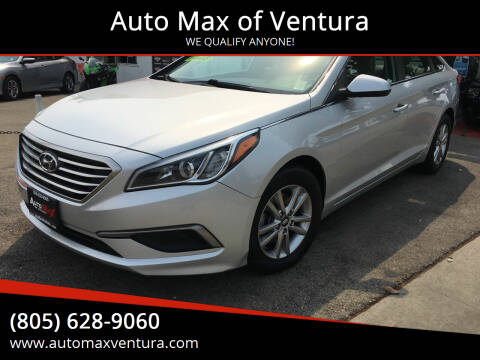 2017 Hyundai Sonata for sale at Auto Max of Ventura in Ventura CA