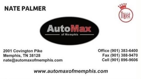 2017 Nissan NV200 for sale at AutoMax of Memphis in Memphis TN