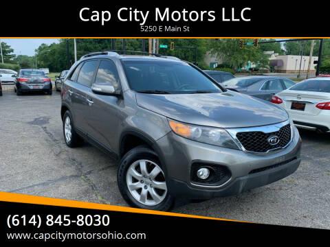 2011 Kia Sorento for sale at Cap City Motors LLC in Columbus OH