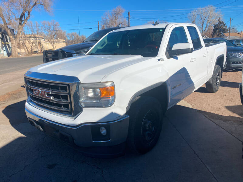 2014 GMC Sierra 1500 for sale at PYRAMID MOTORS AUTO SALES in Florence CO