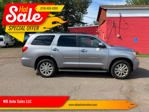 2010 Toyota Sequoia for sale at WB Auto Sales LLC in Barnum MN
