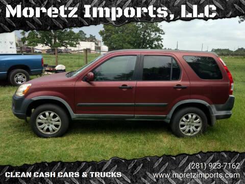 2006 Honda CR-V for sale at Moretz Imports, LLC in Spring TX