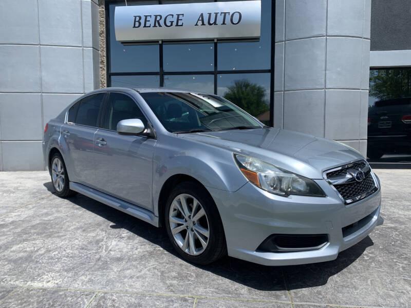 2013 Subaru Legacy for sale at Berge Auto in Orem UT