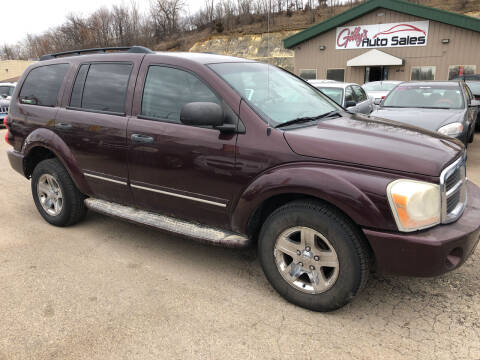 2004 Dodge Durango for sale at Gilly's Auto Sales in Rochester MN