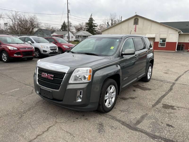 2013 GMC Terrain for sale at Dean's Auto Sales in Flint MI