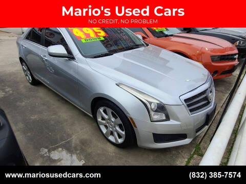 2013 Cadillac ATS for sale at Mario's Used Cars - South Houston Location in South Houston TX