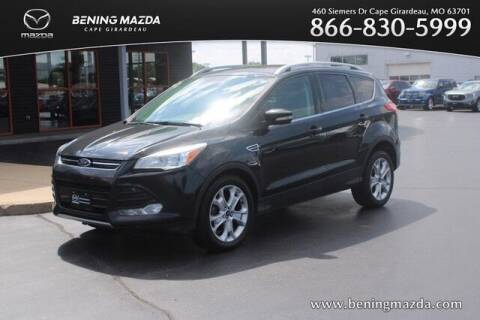 2015 Ford Escape for sale at Bening Mazda in Cape Girardeau MO