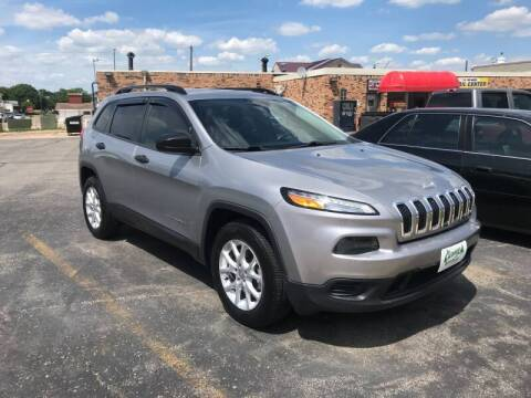 2016 Jeep Cherokee for sale at Carney Auto Sales in Austin MN
