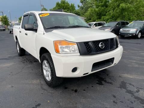 2011 Nissan Titan for sale at LexTown Motors in Lexington KY