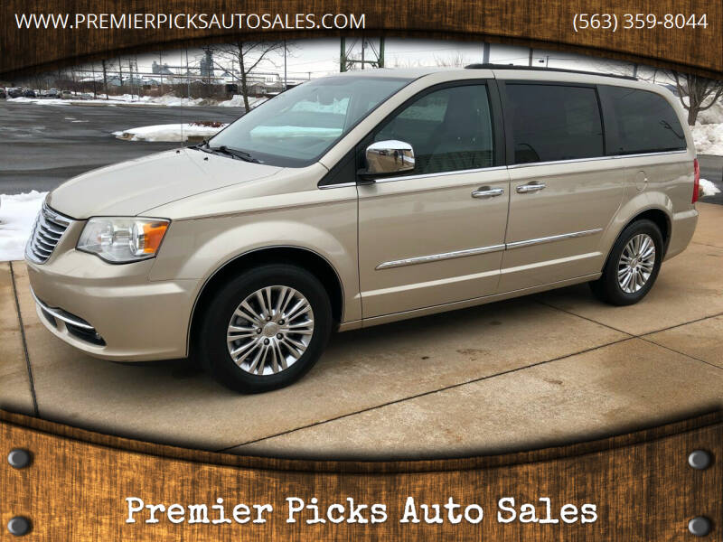 2013 Chrysler Town and Country for sale at Premier Picks Auto Sales in Bettendorf IA