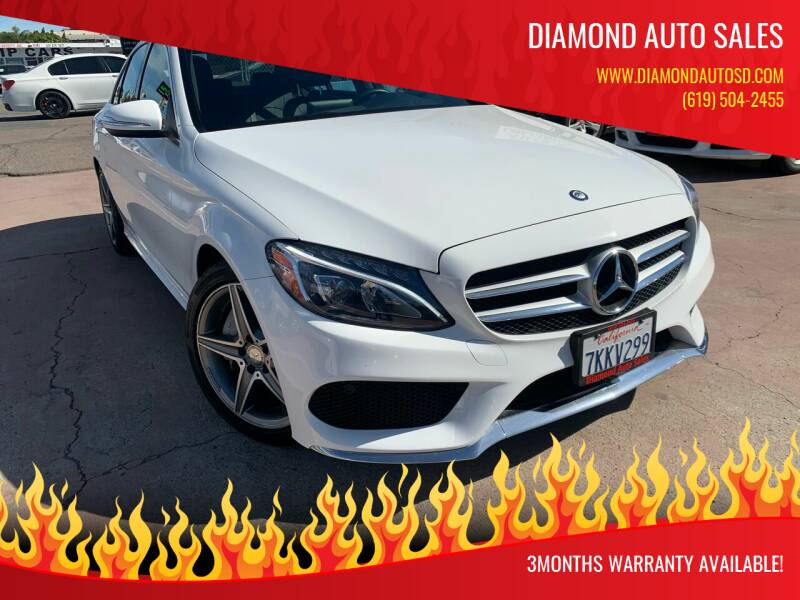 2015 Mercedes-Benz C-Class for sale at DIAMOND AUTO SALES in El Cajon CA