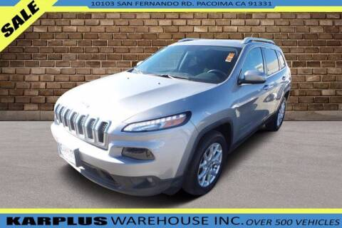 2015 Jeep Cherokee for sale at Karplus Warehouse in Pacoima CA