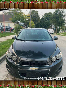 2014 Chevrolet Sonic for sale at Sphinx Auto Sales LLC in Milwaukee WI
