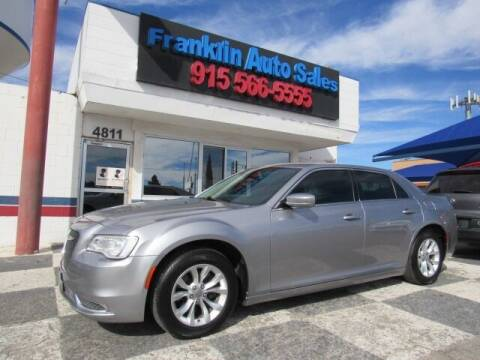 2015 Chrysler 300 for sale at Franklin Auto Sales in El Paso TX