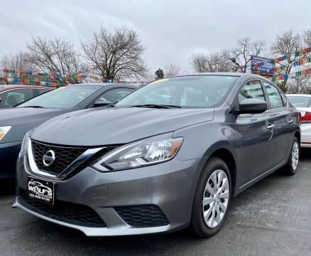 2016 Nissan Sentra for sale at WOLF'S ELITE AUTOS in Wilmington DE