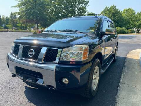 2006 Nissan Armada for sale at Dreams Auto Group LLC in Sterling VA