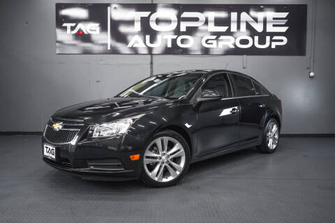 2011 Chevrolet Cruze for sale at TOPLINE AUTO GROUP in Kent WA