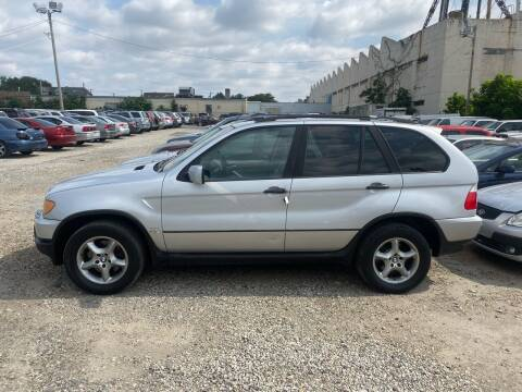 2001 BMW X5 for sale at Philadelphia Public Auto Auction in Philadelphia PA