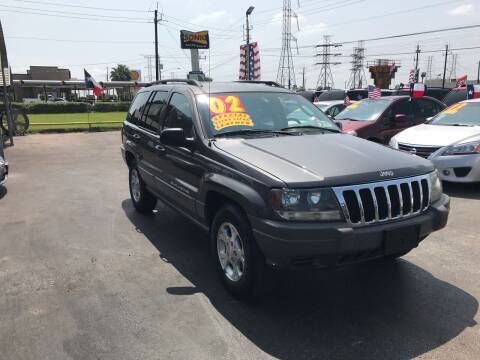 2002 Jeep Grand Cherokee for sale at Texas 1 Auto Finance in Kemah TX