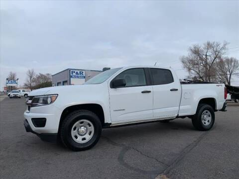 2018 Chevrolet Colorado for sale at P & R Auto Sales in Pocatello ID