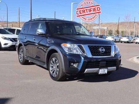 2018 Nissan Armada for sale at EMPIRE LAKEWOOD NISSAN in Lakewood CO