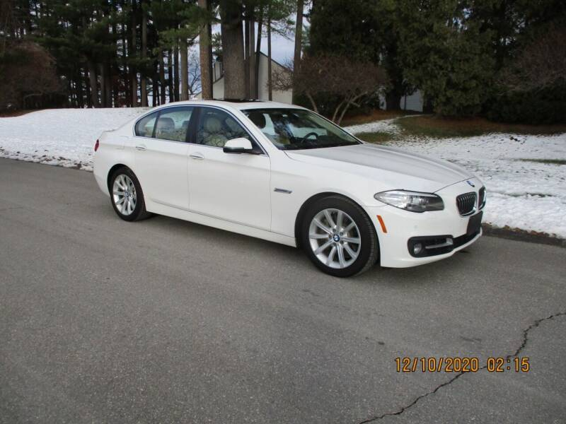 2015 BMW 5 Series for sale at Classic Motor Sports in Merrimack NH