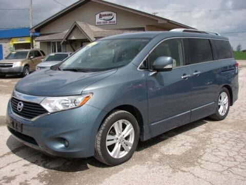 2012 Nissan Quest for sale at Lehmans Automotive in Berne IN