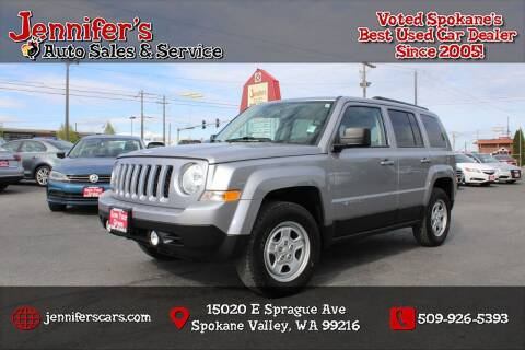2015 Jeep Patriot for sale at Jennifer's Auto Sales in Spokane Valley WA