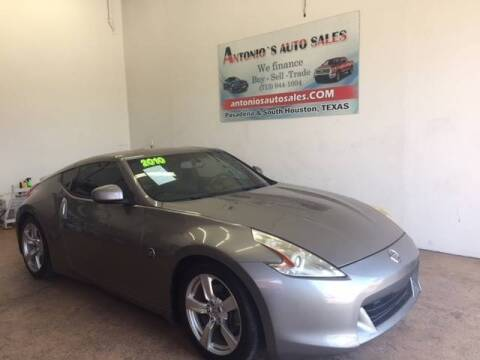 2010 Nissan 370Z for sale at Antonio's Auto Sales in South Houston TX