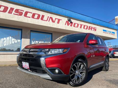 2016 Mitsubishi Outlander for sale at Discount Motors in Pueblo CO