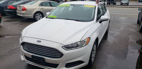 2013 Ford Fusion for sale at TC Auto Repair and Sales Inc in Abington MA