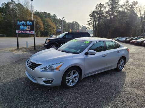 2014 Nissan Altima for sale at Let's Go Auto in Florence SC
