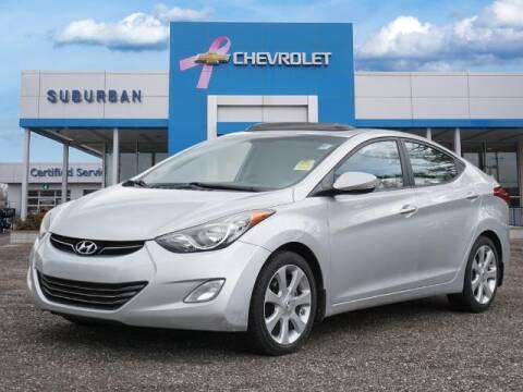 2012 Hyundai Elantra for sale at Suburban Chevrolet of Ann Arbor in Ann Arbor MI