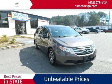 2013 Honda Odyssey for sale at S & S Motors in Marietta GA