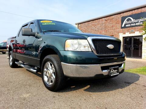 2006 Ford F-150 for sale at AUTO BARGAIN, INC. #2 in Oklahoma City OK