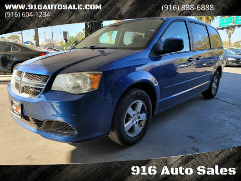 2011 Dodge Grand Caravan for sale at 916 Auto Sales in Sacramento CA
