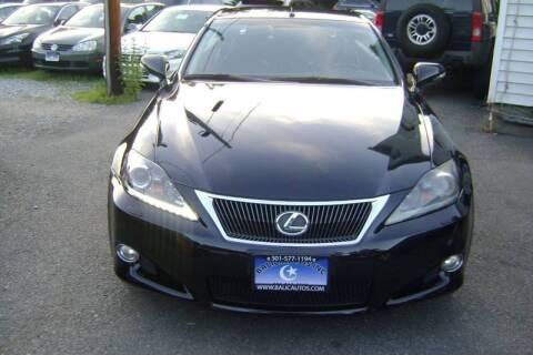 2011 Lexus IS 350C for sale at Balic Autos Inc in Lanham MD