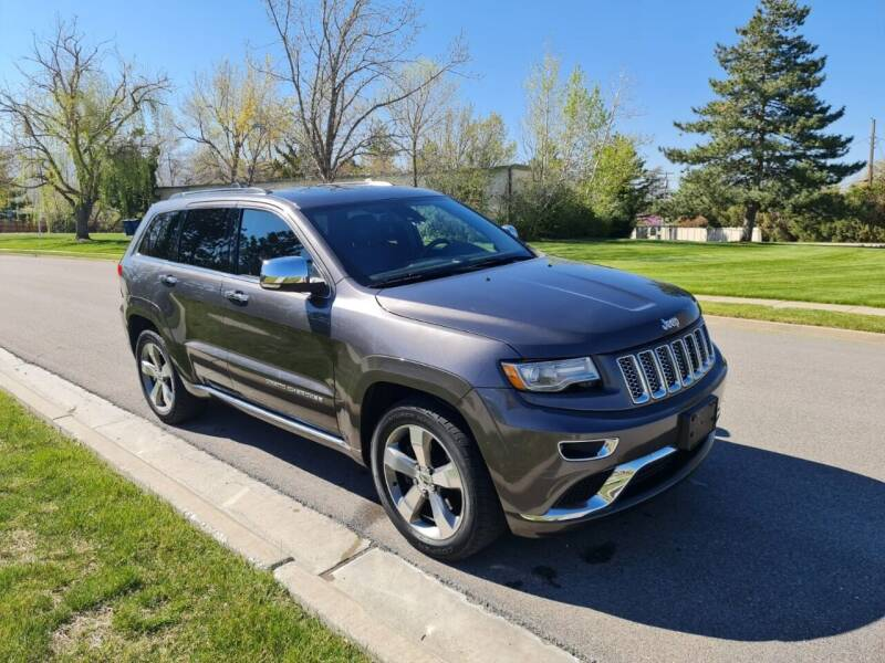 2014 Jeep Grand Cherokee for sale at A.I. Monroe Auto Sales in Bountiful UT