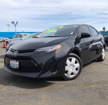 2018 Toyota Corolla for sale at LUGO AUTO GROUP in Sacramento CA