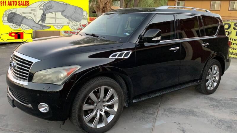 2013 Infiniti QX56 for sale at 911 AUTO SALES LLC in Glendale AZ