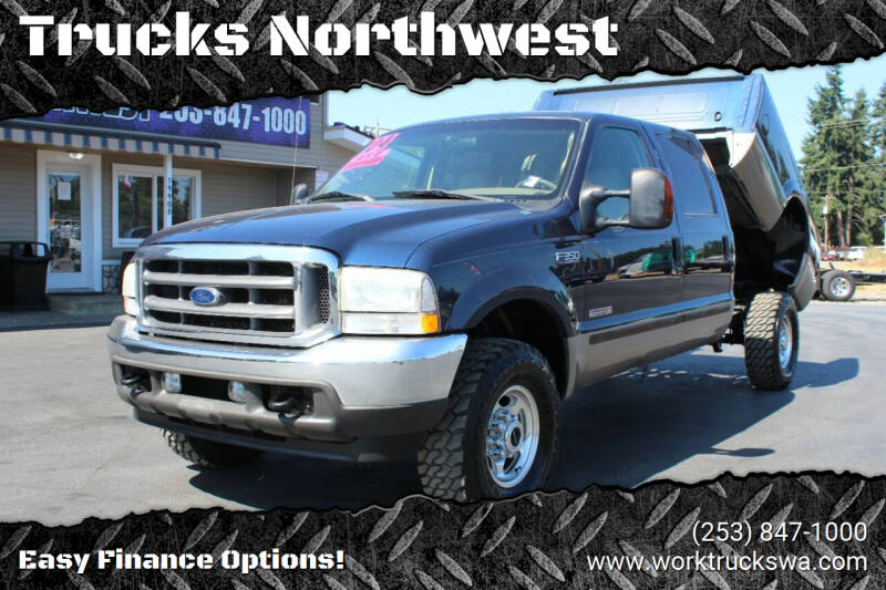 2004 Ford F-350 Super Duty for sale at Trucks Northwest in Spanaway WA