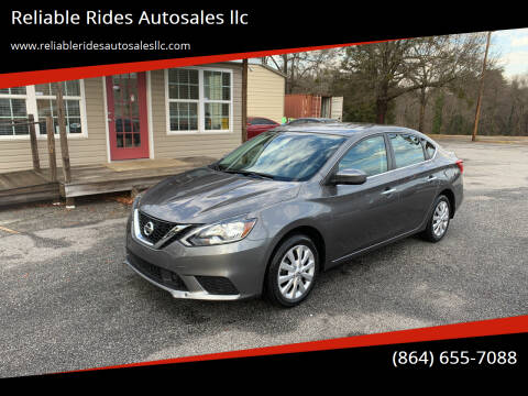 2019 Nissan Sentra for sale at Reliable Rides Autosales llc in Greer SC