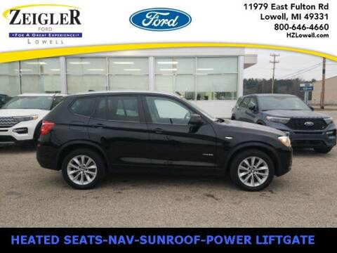 2017 BMW X3 for sale at Zeigler Ford of Plainwell- Jeff Bishop in Plainwell MI