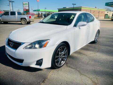 2012 Lexus IS 250 for sale at BRYANT AUTO SALES in Bryant AR