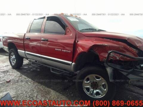 2005 Dodge Ram Pickup 2500 for sale at East Coast Auto Source Inc. in Bedford VA
