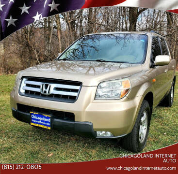 2006 Honda Pilot for sale at Chicagoland Internet Auto - 410 N Vine St New Lenox IL, 60451 in New Lenox IL