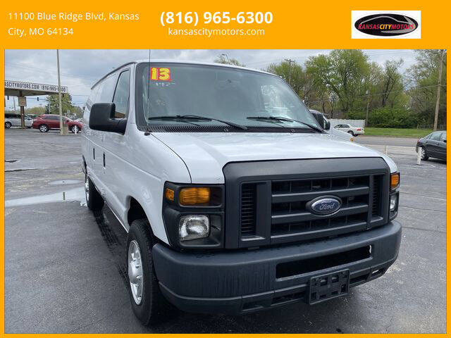 2013 Ford E-Series Cargo for sale at Kansas City Motors in Kansas City MO