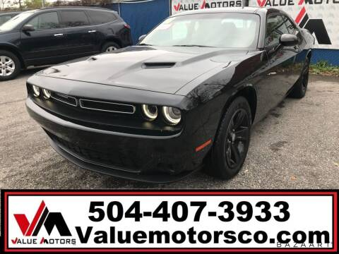 2018 Dodge Challenger for sale at Value Motors Company in Marrero LA